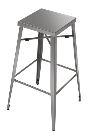 Modern Aluminum Bar Stool