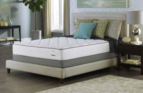 "10.5"" Queen Size Mattress -Plush Tight Top- Foam Encased-390 Bonnel"