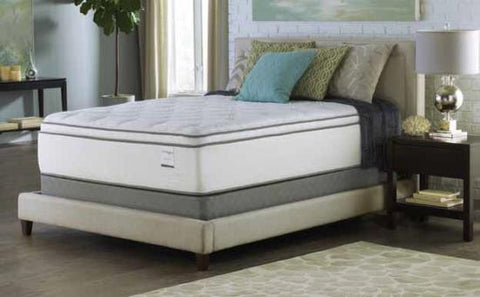 "16"" Queen Size Mattress - Euro Top- Foam Encased - 884 Pocketed Coil With Cool Gel"