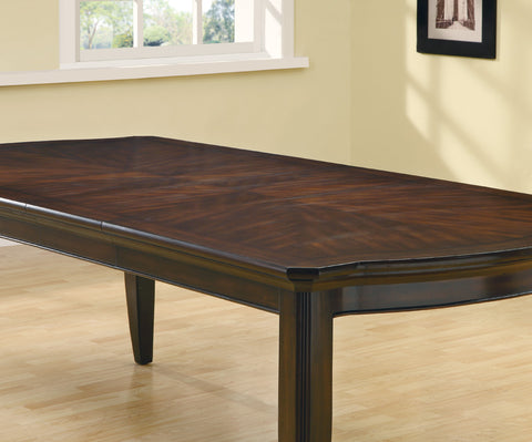 Meredith Contemporary Espresso Dining Table