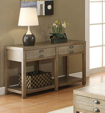 Occasional Group Casual Light Oak Sofa Table