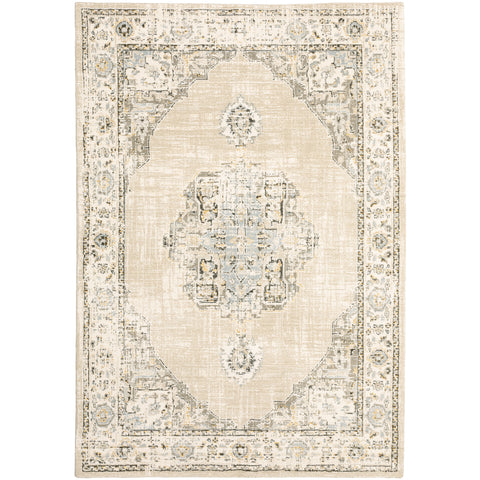Andromeda Collection Pattern 303D0 8' Round Rug