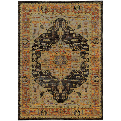 Andromeda Collection Pattern 7138B 6x9 Rug