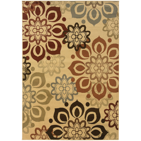 Della Collection Pattern 4441W 8x10 Rug