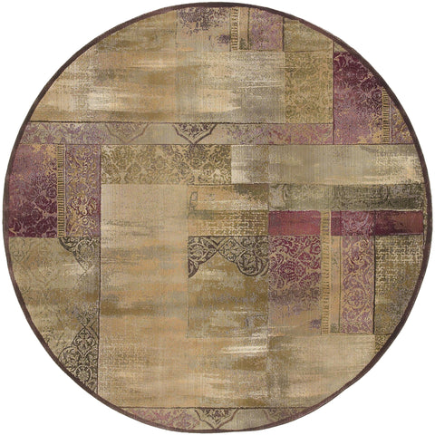 Guinevere Collection Pattern 1527X 8' Round Rug