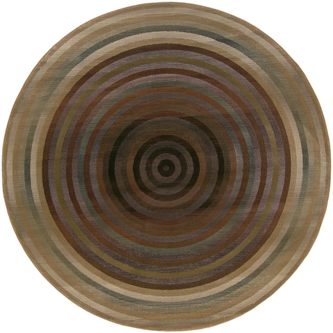 Guinevere Collection Pattern 281J2 8' Round Rug