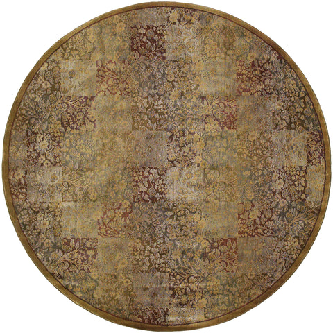 Guinevere Collection Pattern 3435Y 8' Round Rug