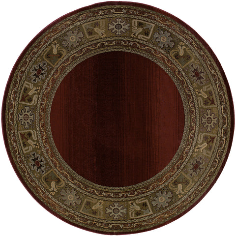 Guinevere Collection Pattern 3436R 6' Round Rug