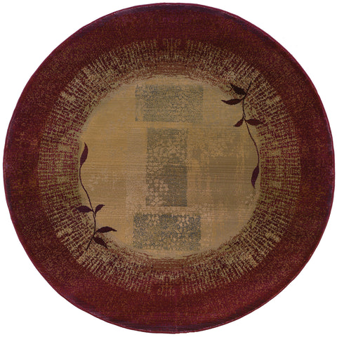 Guinevere Collection Pattern 544X1 8' Round Rug
