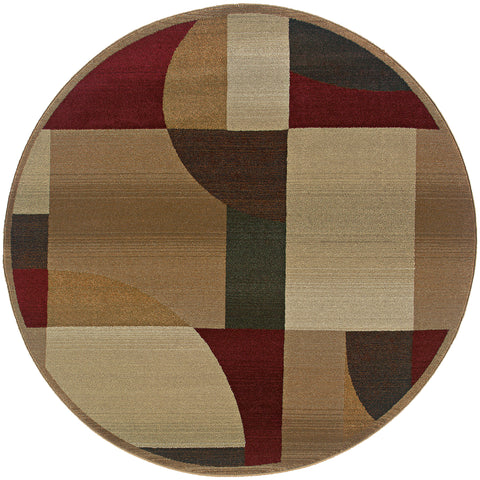 Collins Collection Pattern 5560D 8' Round Rug