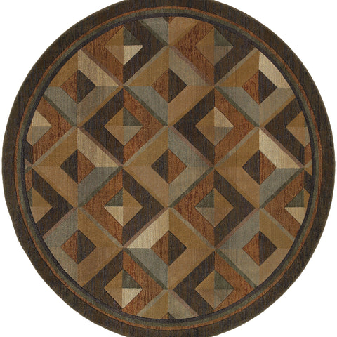 Collins Collection Pattern 956Q1 6' Round Rug