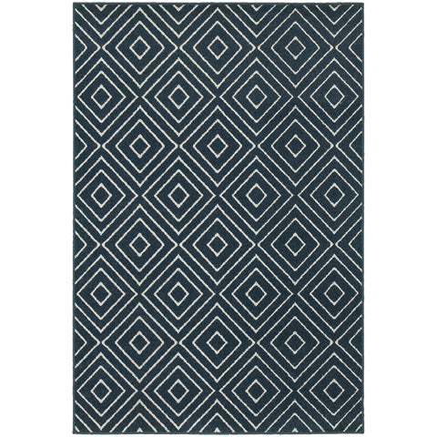Hawthorne Collection Pattern 2332B 6x9 Rug