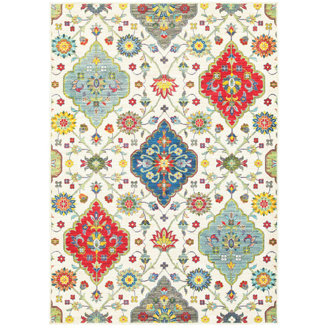 Courtney Collection Pattern 4929W 5x8 Rug