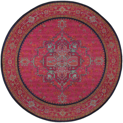 Alisa Collection Pattern 1332S 8' Round Rug