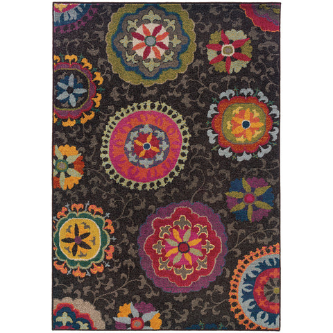 Alisa Collection Pattern 1333N 8x11 Rug
