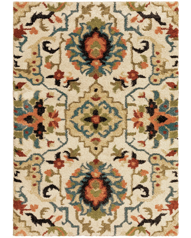 Emily Collection Pattern 001W1 6x9 Rug