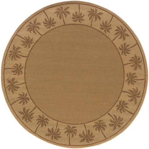 Beverly Collection Pattern 606D7 8' Round Rug