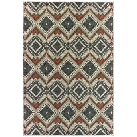 Allison Collection Pattern 002X3 8x10 Rug