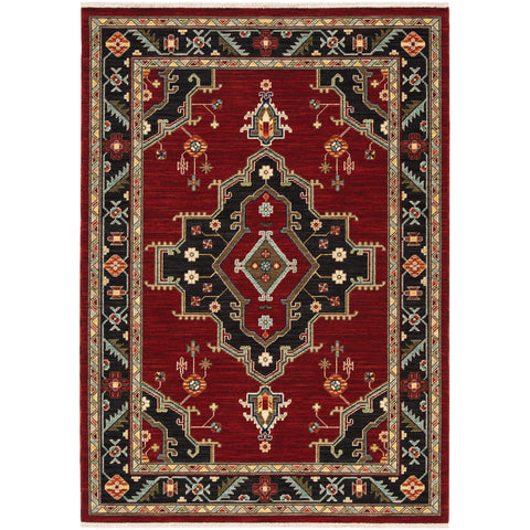 Bronx Collection Pattern 092R6 6x9 Rug
