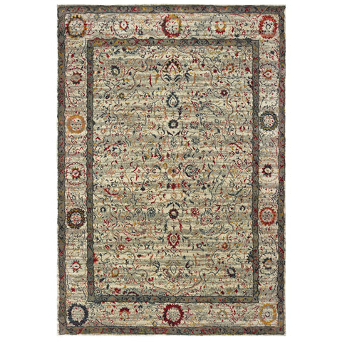 Tranquil Collection Pattern 1905W 6x9 Rug