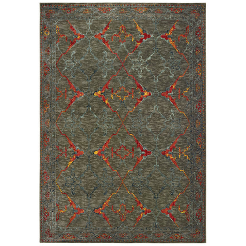 Tranquil Collection Pattern 5502D 5x8 Rug