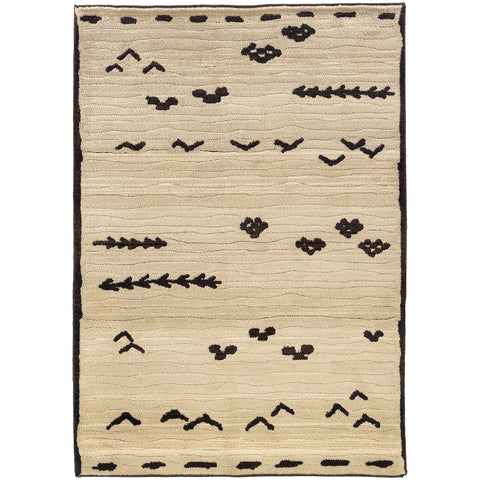 Rebecca Collection Pattern 001N0 5x8 Rug