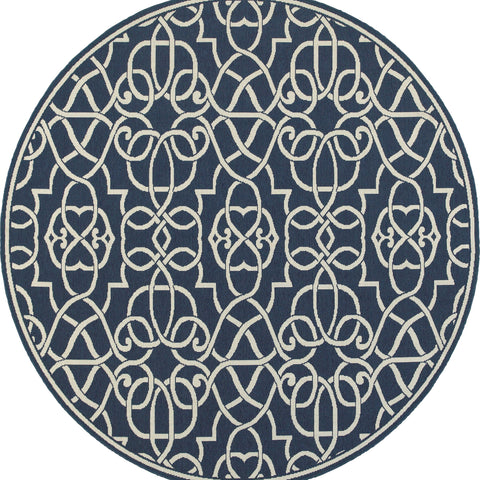 Whitney Collection Pattern 2205B 8' Round Rug