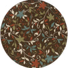 Melisende Collection Pattern 967X6 8' Round Rug