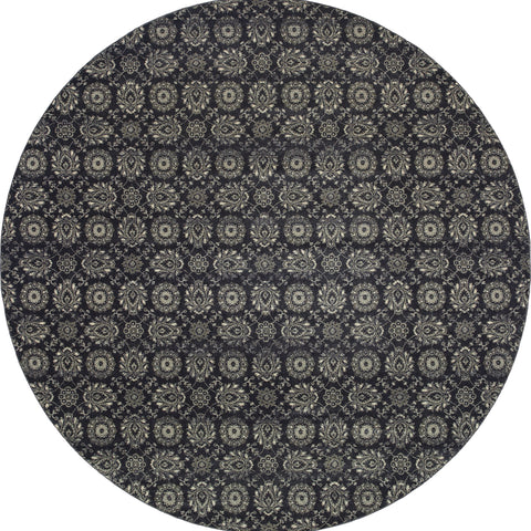 Erica Collection Pattern 214H3 8' Round Rug