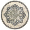 Erica Collection Pattern 5504I 8' Round Rug