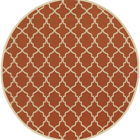 Sapphira Collection Pattern 4770D 8' Round Rug