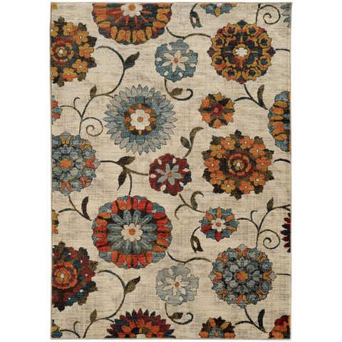 Sinclair Collection Pattern 6361A 6x9 Rug