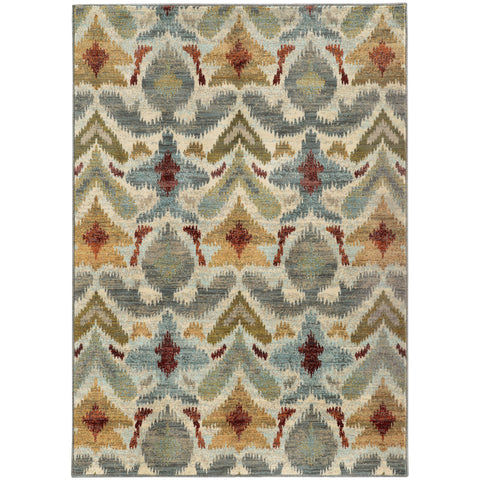 Sinclair Collection Pattern 6371C 5x8 Rug