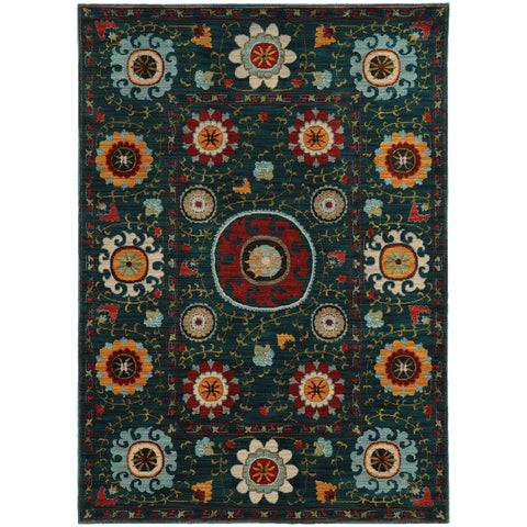 Sinclair Collection Pattern 6408B 6x9 Rug