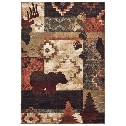 Wisteria Collection Pattern 9649A 6x9 Rug