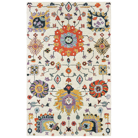 East Collection Pattern 75502 5x8 Rug