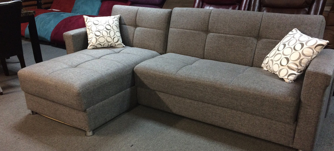 Storage Futon Sectional - $699