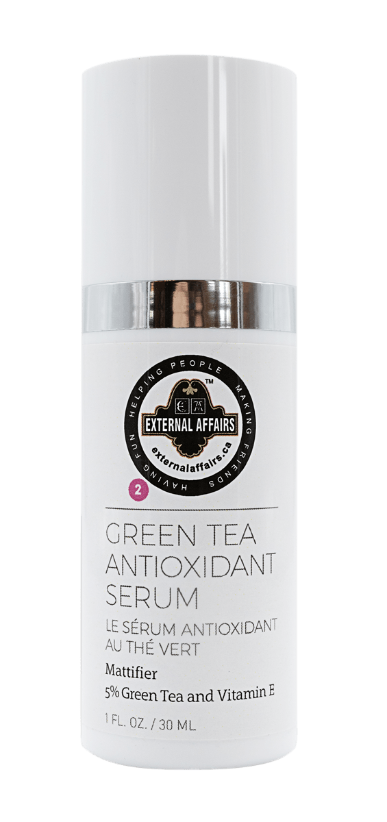 External Affairs Green Tea Antioxidant Serum