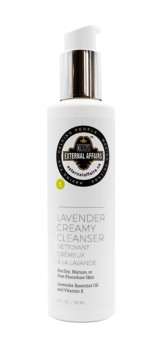 External Affairs Lavender Creamy Cleanser