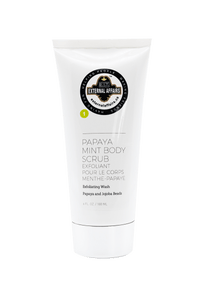 External Affairs Papaya Mint Body Scrub
