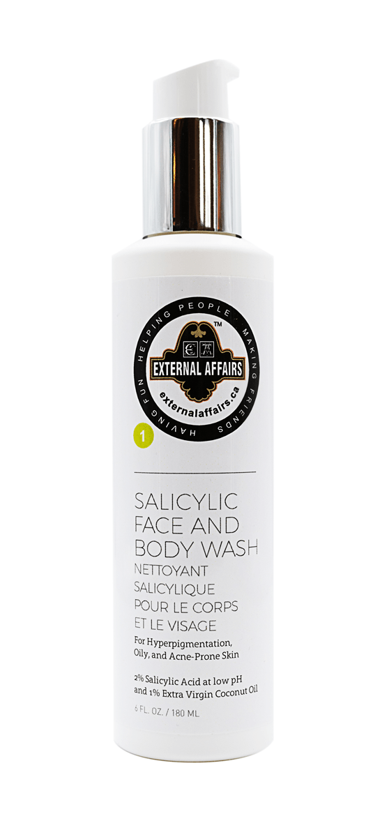 External Affairs Salicylic Face and Body Wash