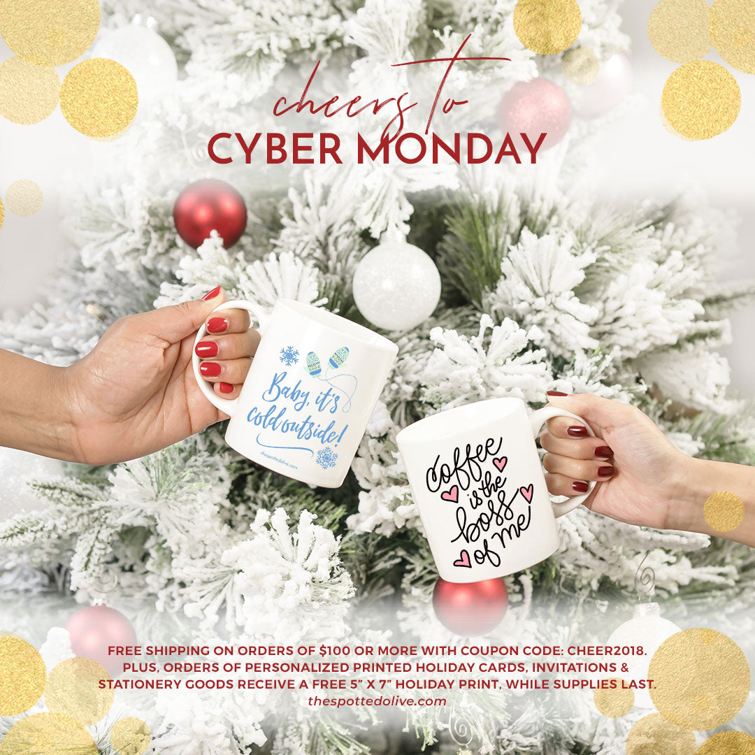 cyber monday deals on holiday cards