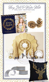 Navy, Gold & Winter White Holiday Inspiration & Ideas