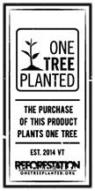 The purchase of this product from thespottedolive.com plants a tree via onetreeplanted.org