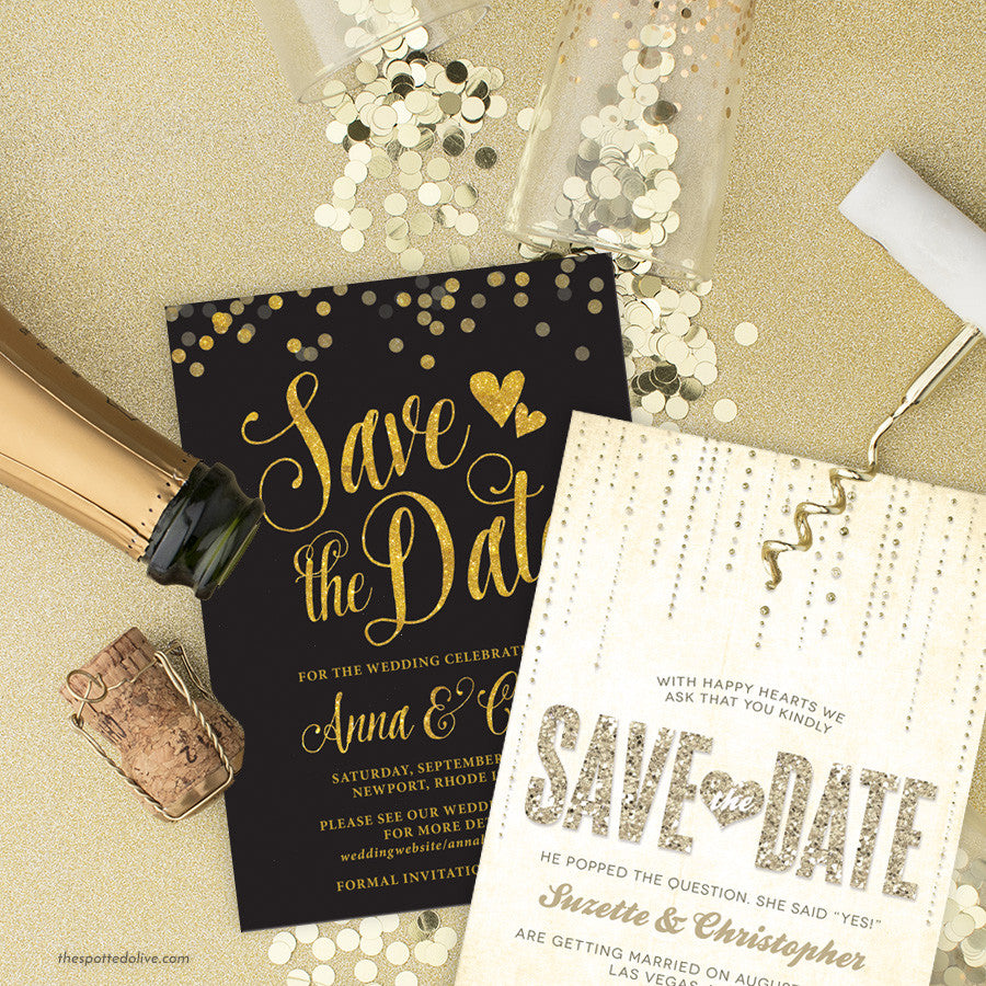 Save the Date Cards by The Spotted Olive