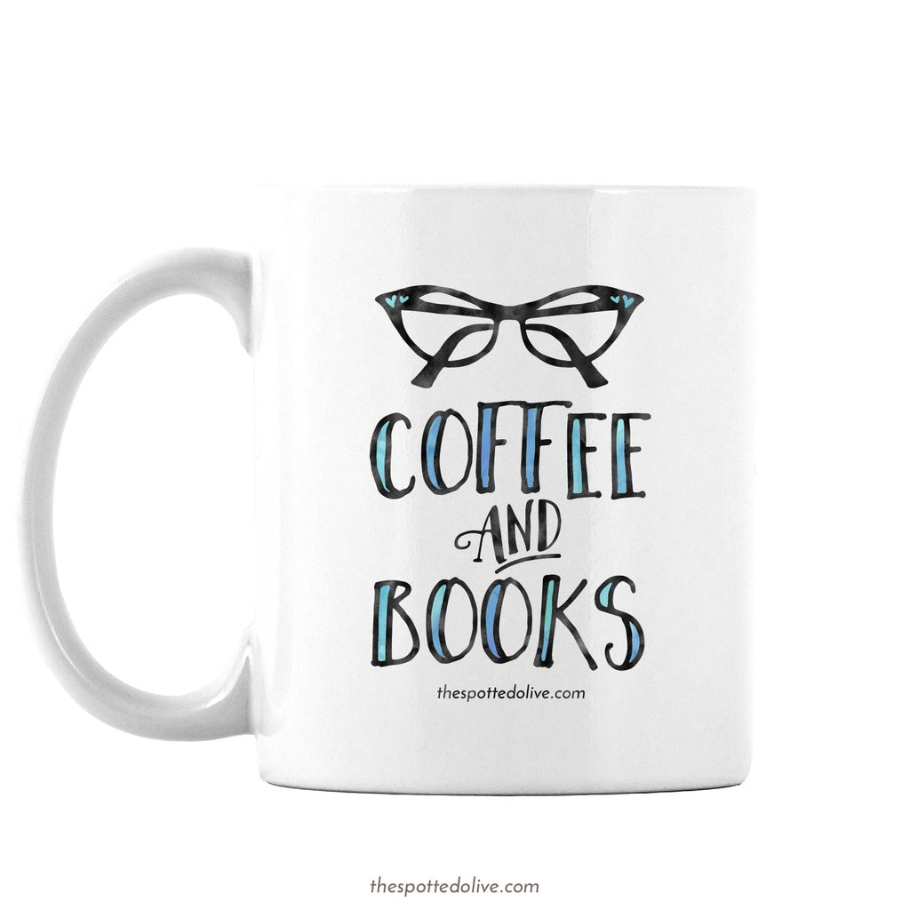 Coffee Mug - Coffee And Books