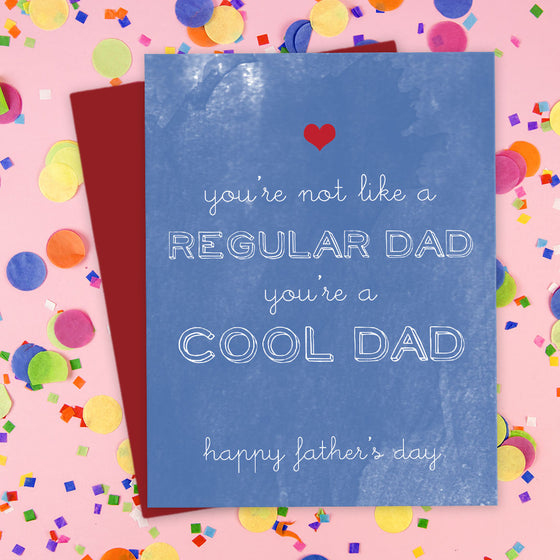 You're A Cool Dad Father's Day Card by The Spotted Olive - Scene