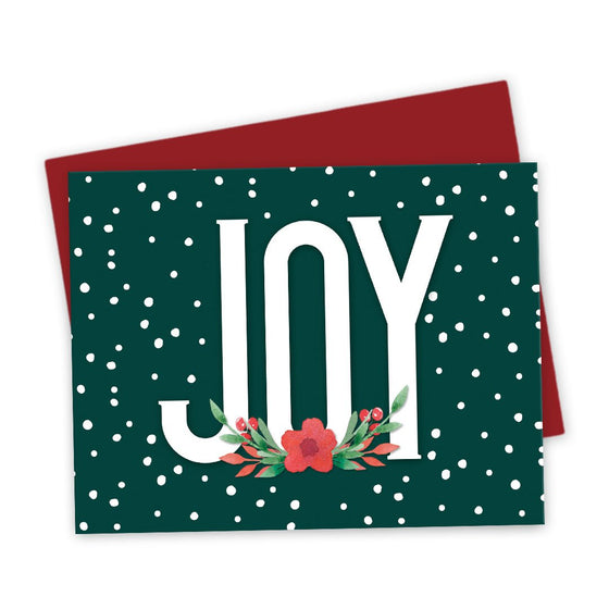 Floral Joy Holiday Cards by The Spotted Olive