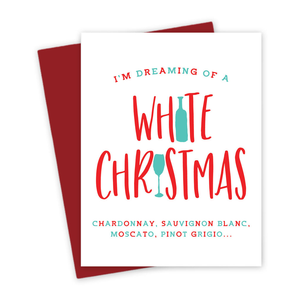 Holiday Card - Funny Wine Christmas