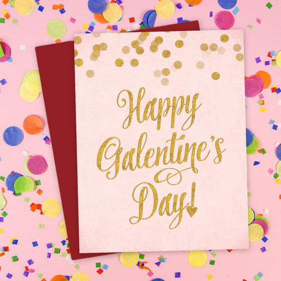 Happy Galentine's Day Card by The Spotted Olive - Scene